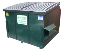 4 yard front load dumpster