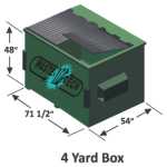 4 Yard Dumpster